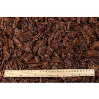 Hakkepuidu multš pruun 50L Wood chips brown