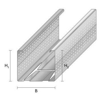 Metallkarkassi post VP42/35 3,4m