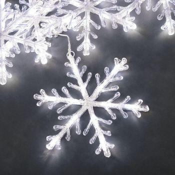 Jõuluvalgusti LED Lumehelbed 4m 7318304392039