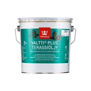 Veepõhine terrassiõli Tikkurila Valtti Plus, pruun, 2,7L