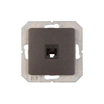 Arvutipesa 1-ne süvis valge raamita  must 4779101637946