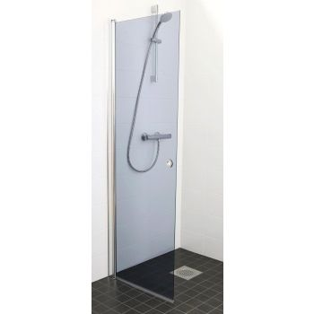 Pöördehingega dušisein 650mm hall klaas