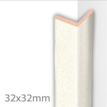 Seinapaneeli välisnurk 32/2,6 Struktuurvalge