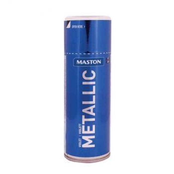 Aerosoolvärv Maston metallik violett 400ml 6412492108166