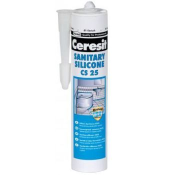 Sanitaarsilikoon CS25 28 cream 280ml
