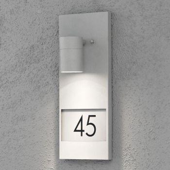 Valgusti Modena, numbrivalgusti, seina, hall