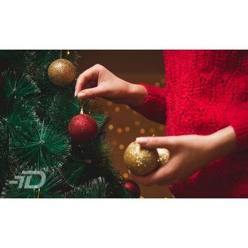 Jõulupuu ehtimine