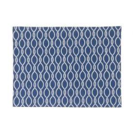 Lauamatt Mereteemaline sinine 33x45cm