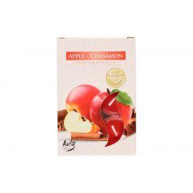 Teeküünal 6tk õun-kaneel