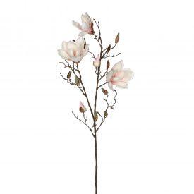 Kunstlill Magnolia heleroosa 88cm