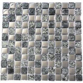 Mosaiik Stocksund Must-kroom 2301