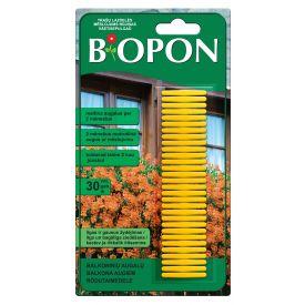 Biopon väetisepulgad rõdutaimedele 5904517127043