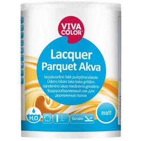 Puitpõrandalakk Vivacolor Lacquer Parquet Akva 1L
