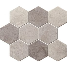 Mosaiik Marble hexagon mix