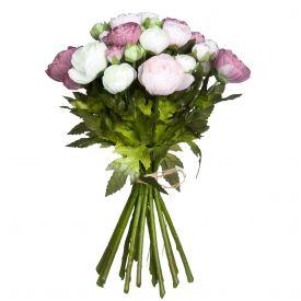 Kunstlill Renoncule kimp roosa 26cm