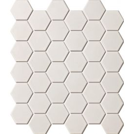 Mosaiik Hexagon white matt