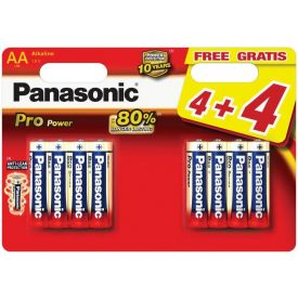 Patarei Panasonic Pro AA/LR6 8tk