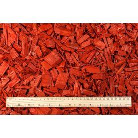 Multš männikoore punane 50L Wood chips red
