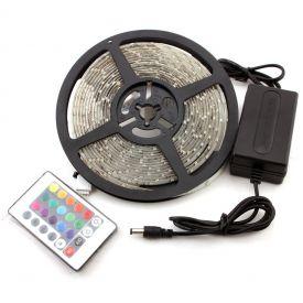 Led riba 5m+ adapter6A IP65 3858890440652