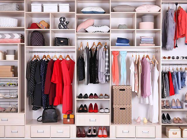 Läbimõeldud garderoob mahutab kõik vajaliku!