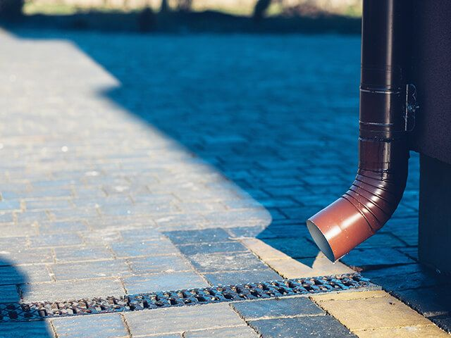 Kaunis maja vajab hooldatud vihmaveesüsteemi