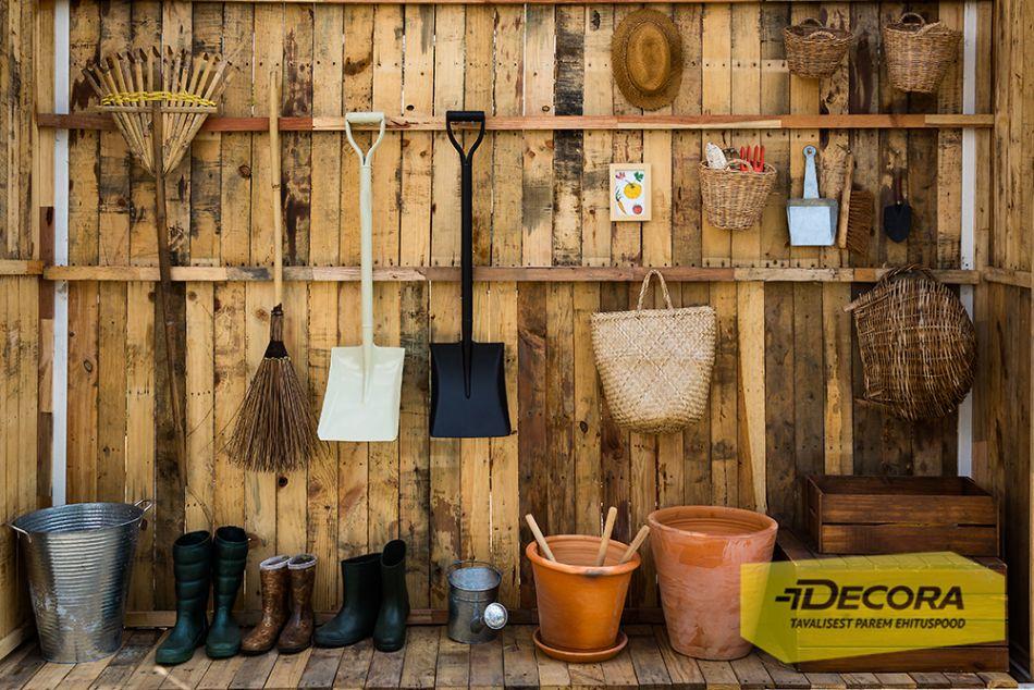 Äratame aiatööriistad talveunest