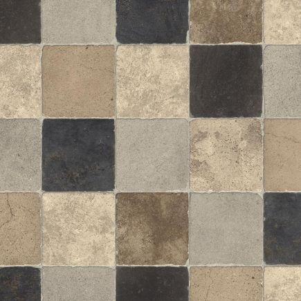Pvc Pietra596 3m Must-beež kiviplaat