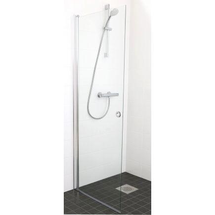 Pöördehingega dušisein 850mm kirgas klaas
