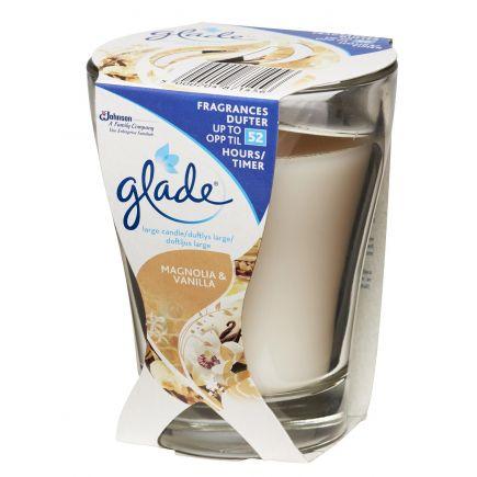Lõhnaküünal Glade Magnolia&Vanilla 52h 5000204856293