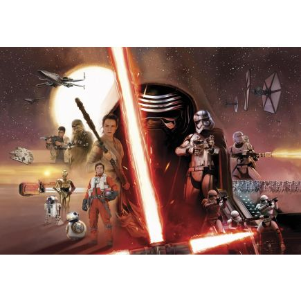 Fototapeet 8-492 Star Wars EP7 Collage