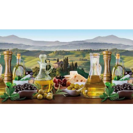 Köögitagaseina dekoratiivplaat 387 oliivid 4680438708387