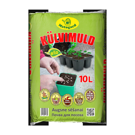 Muld Matogard 10L bio-külvimuld 4742014000398