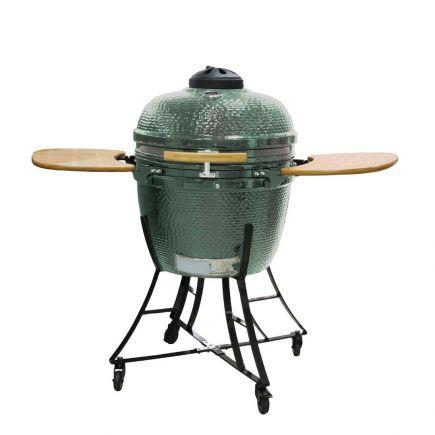 "Keraamiline grill Kamado Nordgarden 24"" roheline"