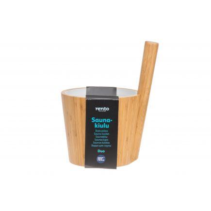 Saunakibu Rento bambusest 5L 6410412973375
