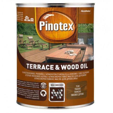 Puiduõli Pinotex Terrace&Wood Oil 1L, teak