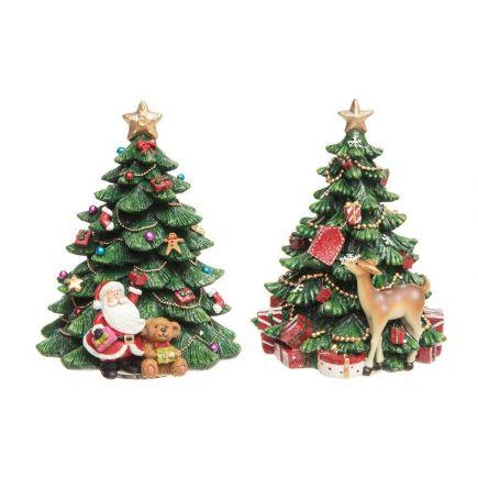 Jõulupuu meloodiline 15cm valik