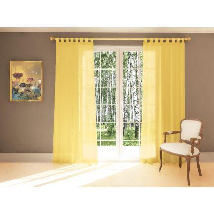Kardin Diana 140x245 yellow