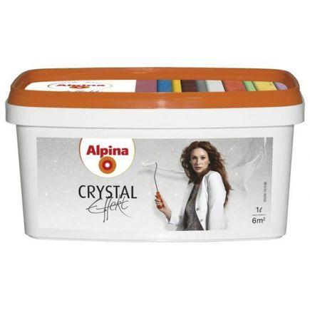 Alpina Effekt Crystal Silber 1L