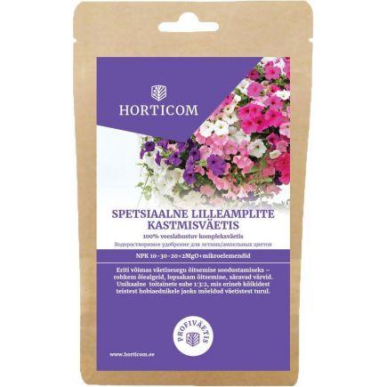 Spetsiaalne lilleamplite kastmisväetis Horticom 300g 4743153099861