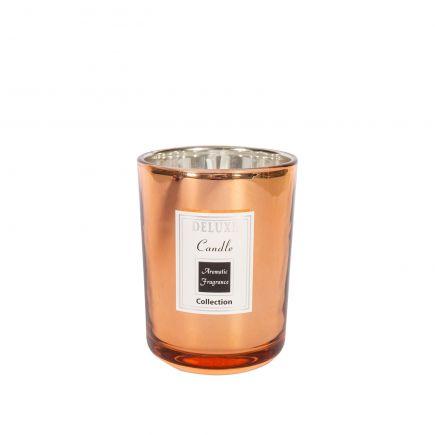 Küünal klaasis Deluxe 8x10,5cm vask