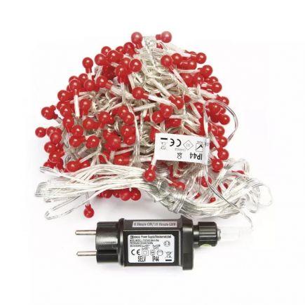 Valguskett 288 LED jõulukimp 2,4M punane 8592920059357 17-ZY2029T Jõuluvalgustus