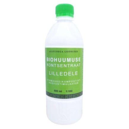 Biohuumuse kontsentraat lilledele Ussimo 0,5L
