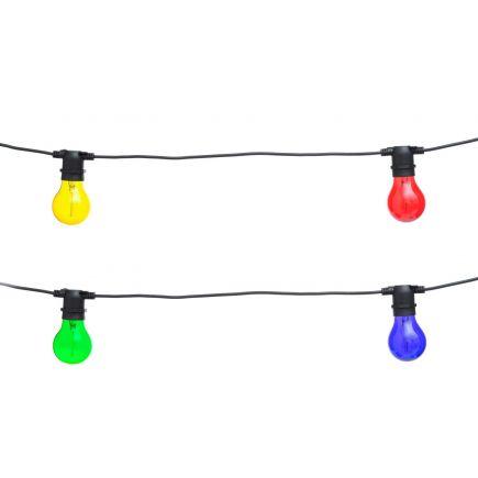 Valguskett Peotuled 10LED värviliste tuledega 6410412853097