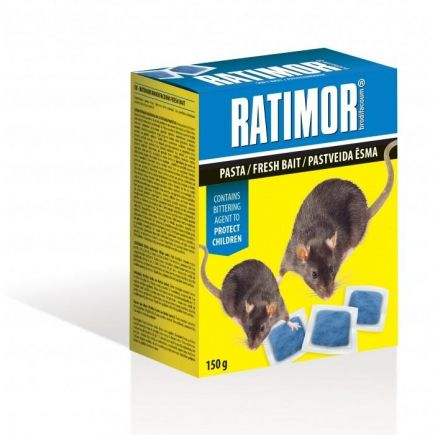 Hiire- ja rotimürk Ratimor pasta 150g 3830050609574