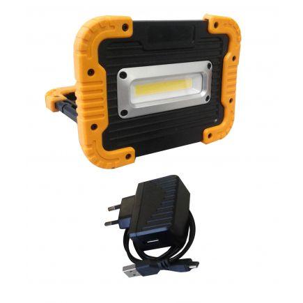 LED prožektor-akupank IP44 10W