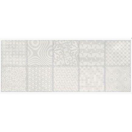 Seinaplaat Aruba patchwork white 20x50cm
