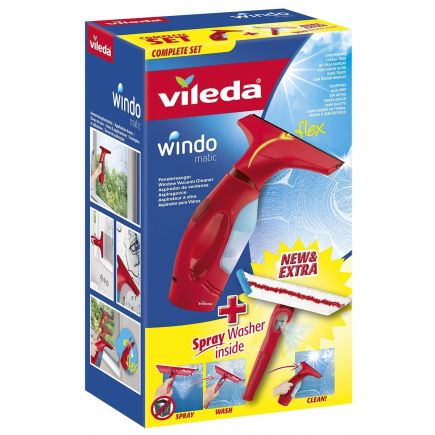 Aknakuivataja + spray Vileda Windo Matic