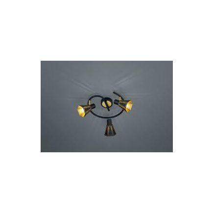 Kohtvalgusti Houston, 3-osaline, 3 × E14, mattmust