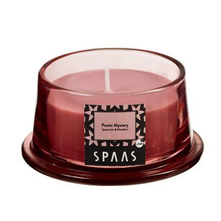 Lõhnaküünal klaasis kooniline 15h poeetiline salapära piparmünt-mandariin 5411708161194