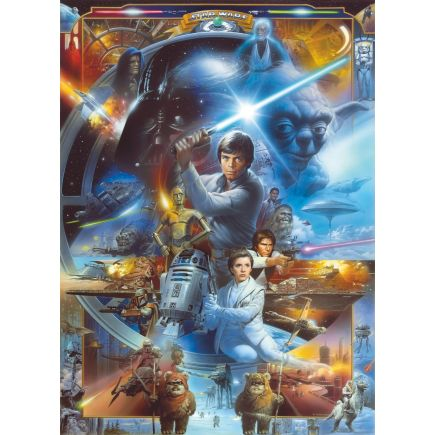 Fototapeet 4-441 Star Wars Luke Skywalker Collage